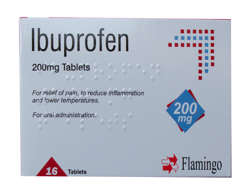 Ibuprofen Tablets 200mg - 16 Pack