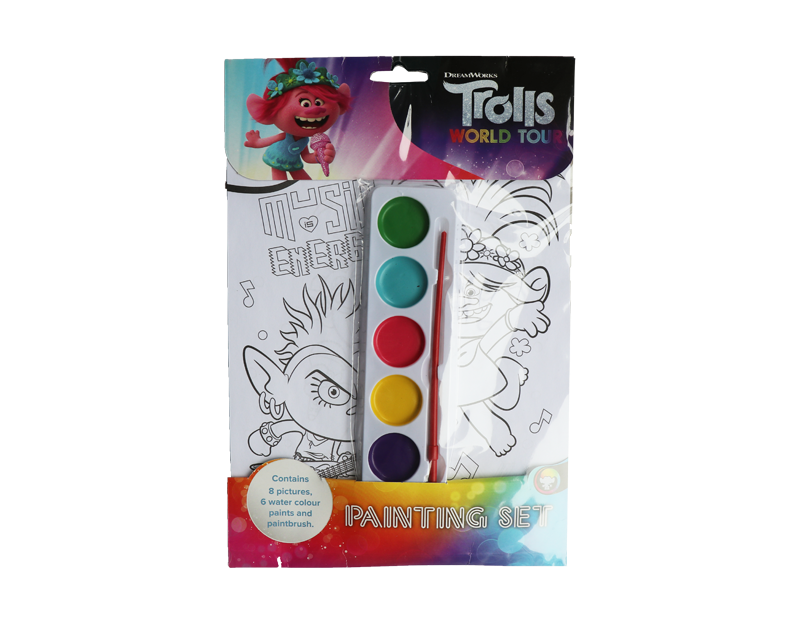 Trolls Painting Set