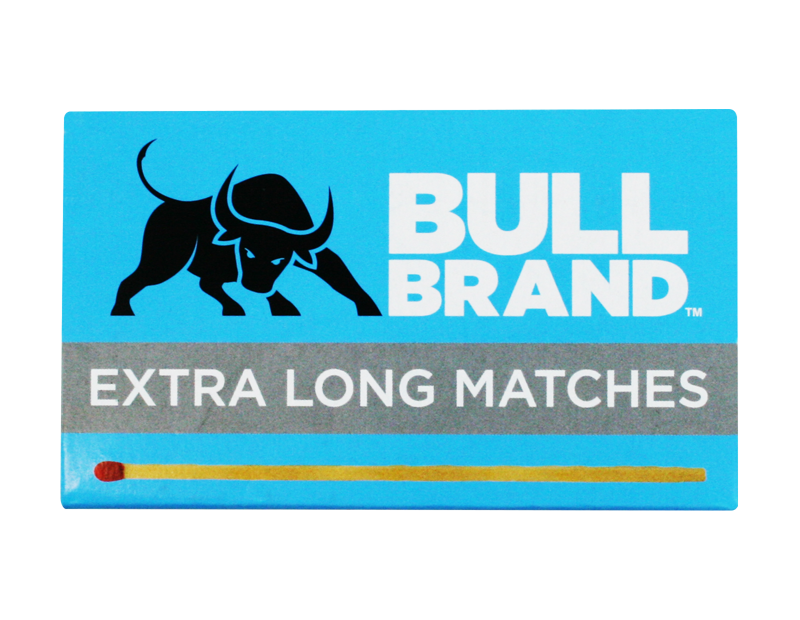 Bull Brand Extra Long Matches