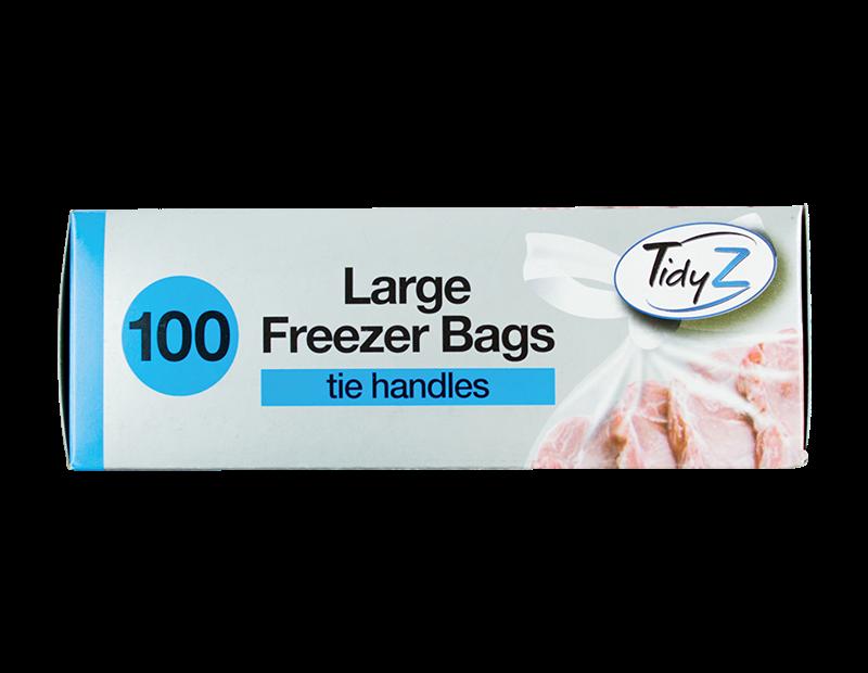 Food & Freezer Bags - 100 Pack