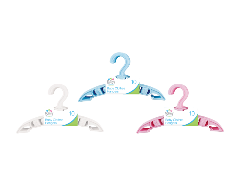 Baby Clothes Hangers - 10 Pack