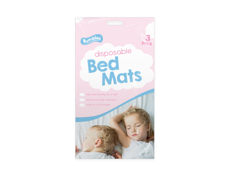Disposable Bed Mats - 3 Pack