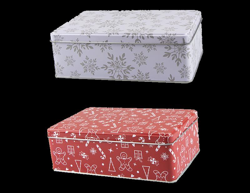 Christmas Storage Tin