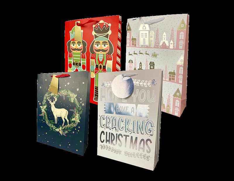 Christmas Traditional Luxury XL Gift Bag