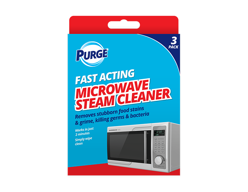 Microwave Steam Cleaner - 3 Pack