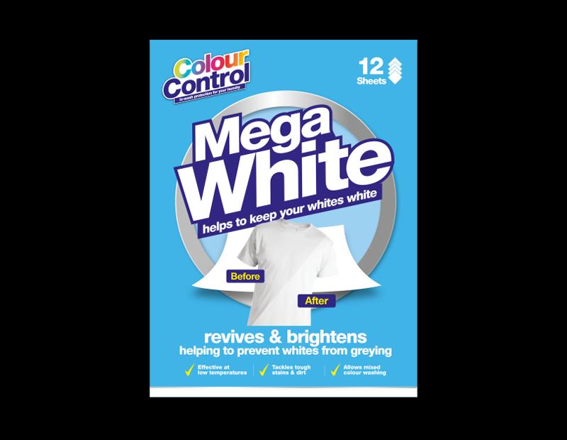 Mega White Laundry Sheets - 12 Pack