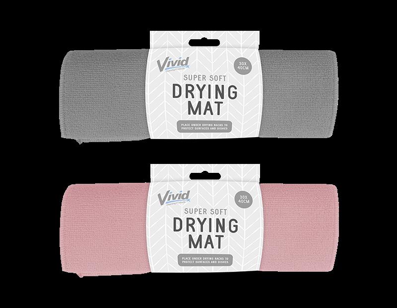 Dish Drying Mat 30cm x 40cm - Trend