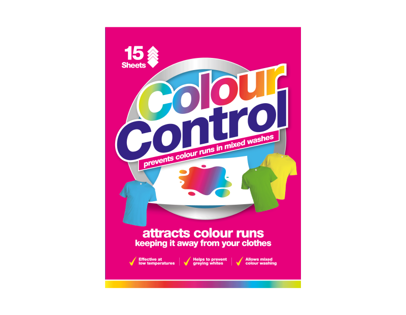 Colour Control Laundry Sheets - 15 Pack