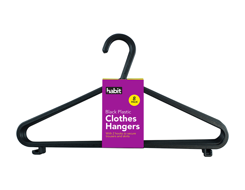 Clothes Hangers - 8 Pack