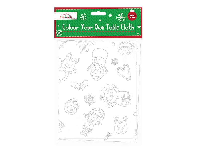 Colour Your Own Table Cloth