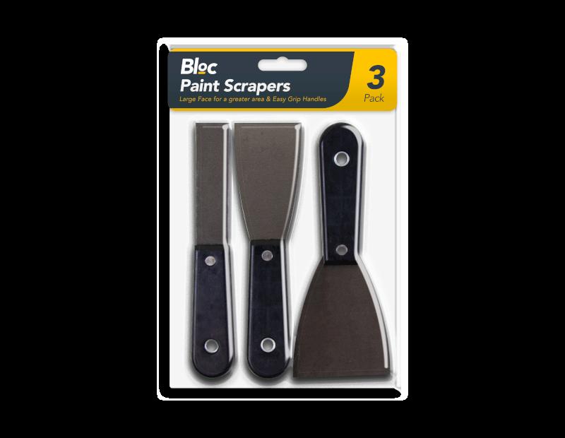 Paint Scrapers - 3 Pack