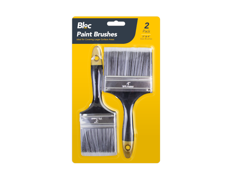 Paint Brushes - 2 Pack