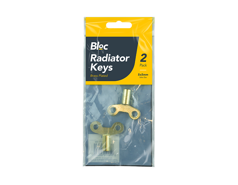 Radiator Keys - 2 Pack