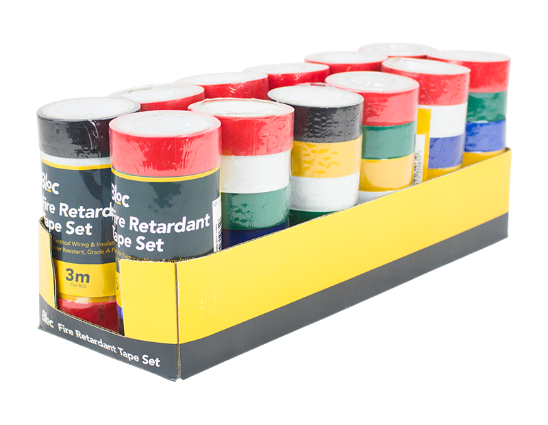 Fire Retardant Tape Set - 6 Pack
