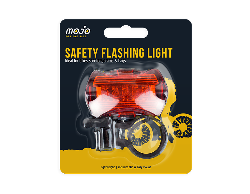 Bicycle Safety Flashing Light