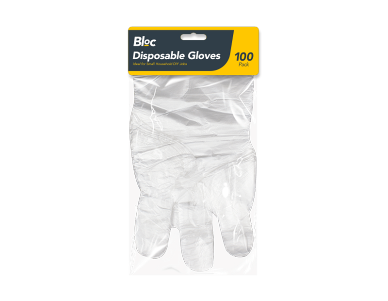 Disposable Gloves - 100 Pack