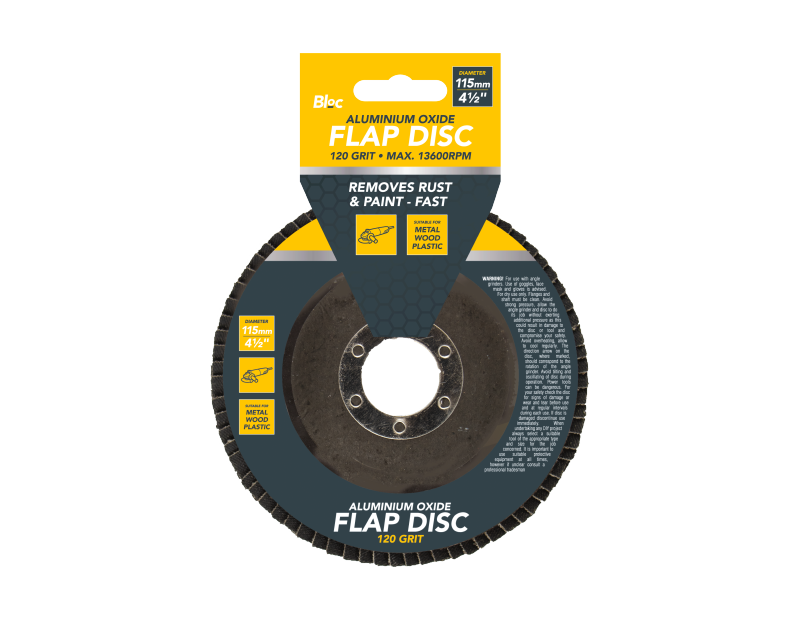 Aluminium Oxide Flap Disc 120 Grit