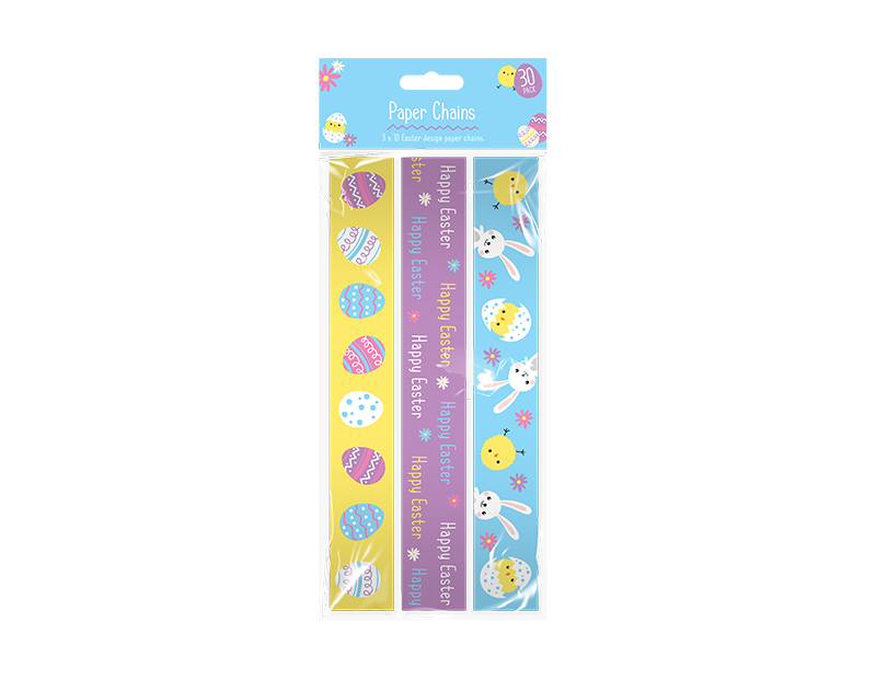 Easter Paper Chains - 30 Pack