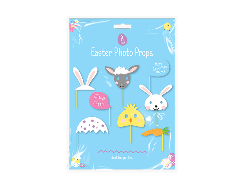 Easter Photo Props - 8 Pack