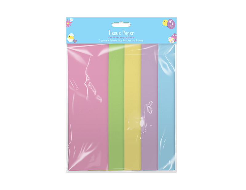 Easter Tissue Paper - 10 Pack