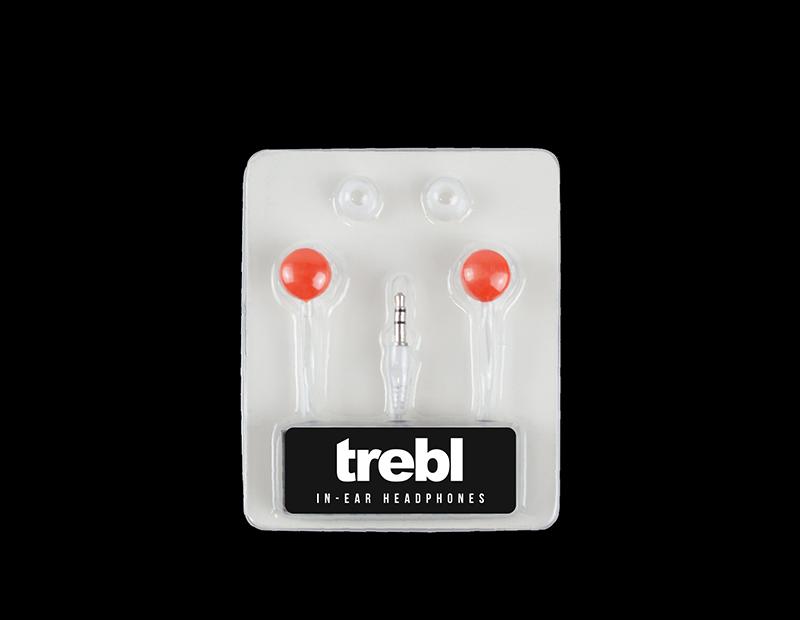 Colour Cap In-ear Headphones