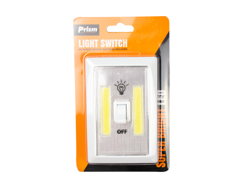 LED Light Switch with Batteries
