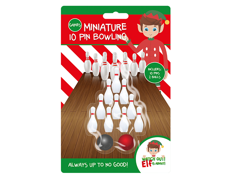 Elf Bowling Set