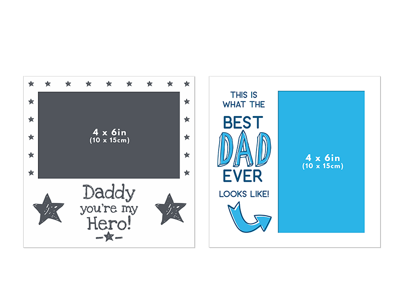 Father's Day Printed Photoframe PDQ