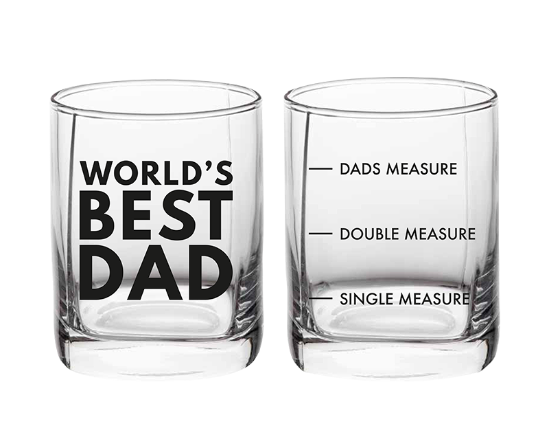 Father's Day Whiskey Glass in Gift Box