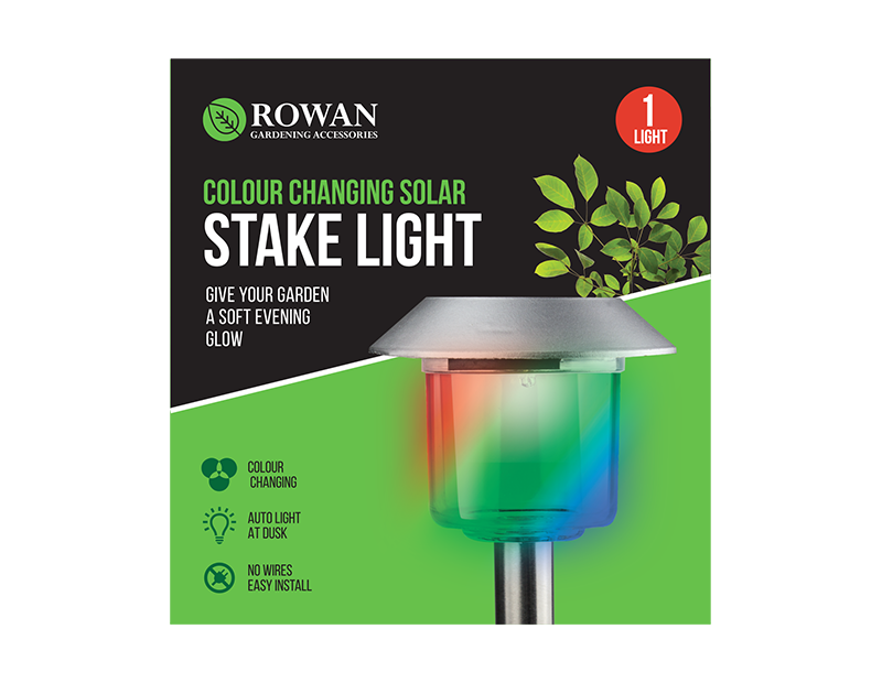 Colour Changing Solar Stake Light