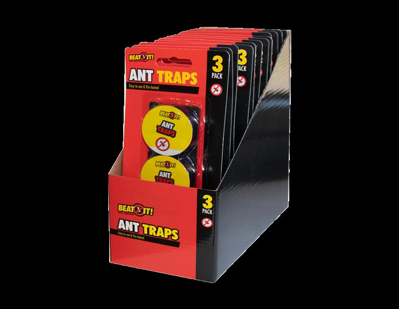 Ant Glue Traps 3 pack PDQ
