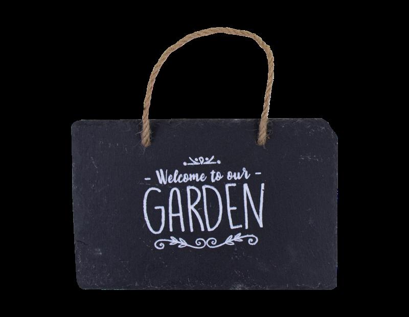 Slate Hanging Garden Sign