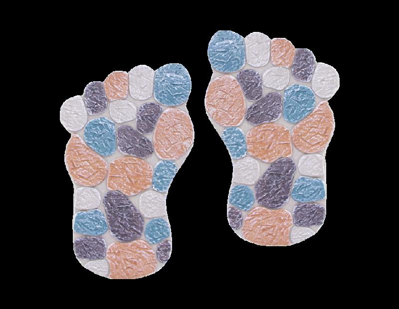 Mosaic Foot Stepping Stone