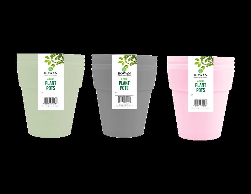 Plant Pots 10cm - 4 Pack