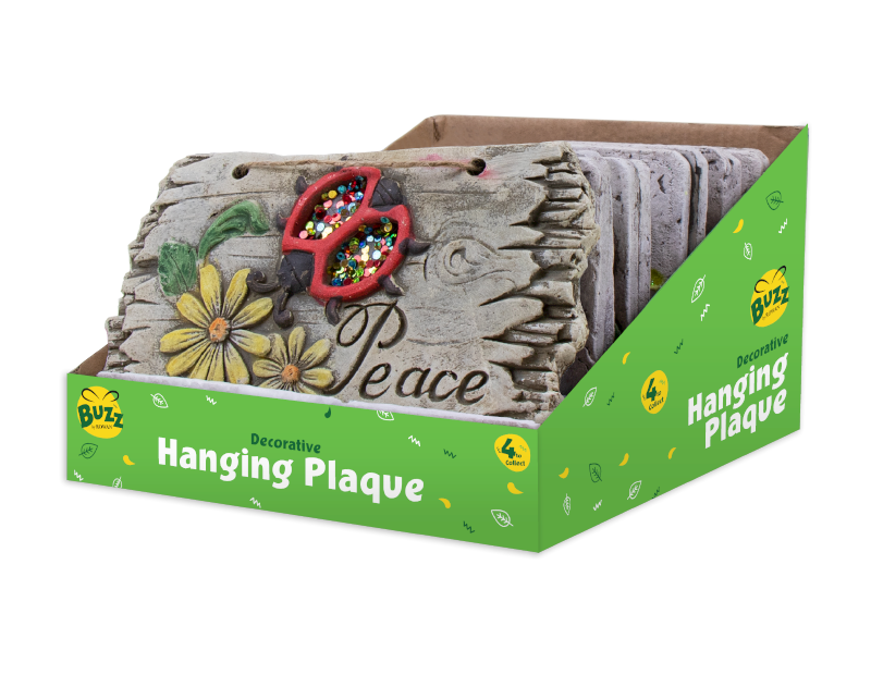 Hanging Garden Plaque With PDQ