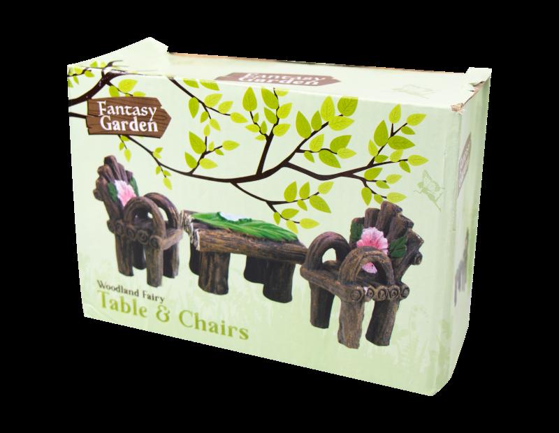 Fairy Garden Table & Chairs