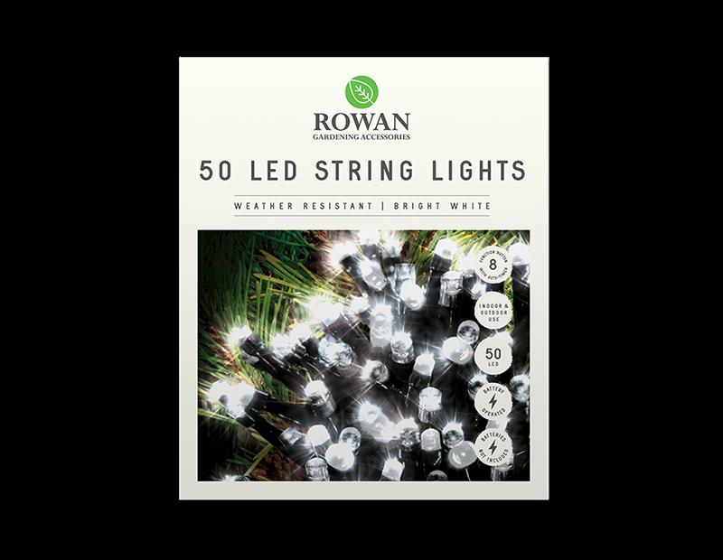50 LED Battery Powered String Lights