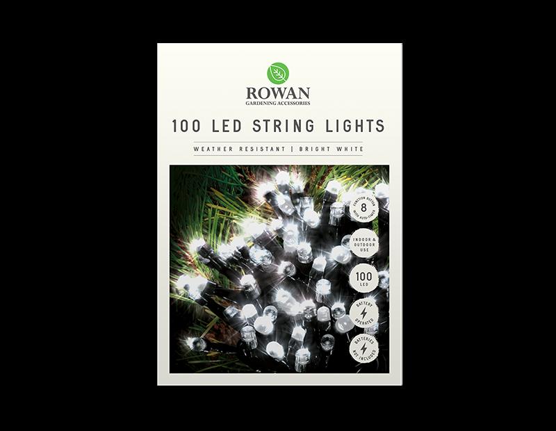 100 LED Battery Powered String Lights