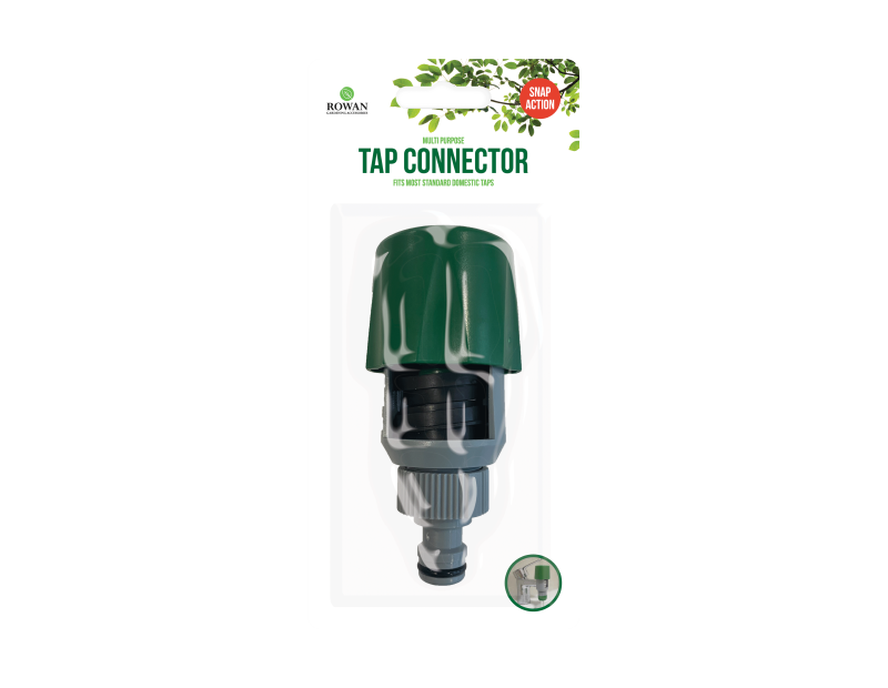 Snap Action Multi Purpose Tap Connector
