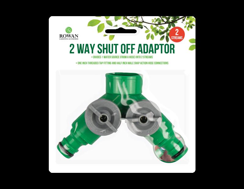 2 Way Shut Off Adaptor