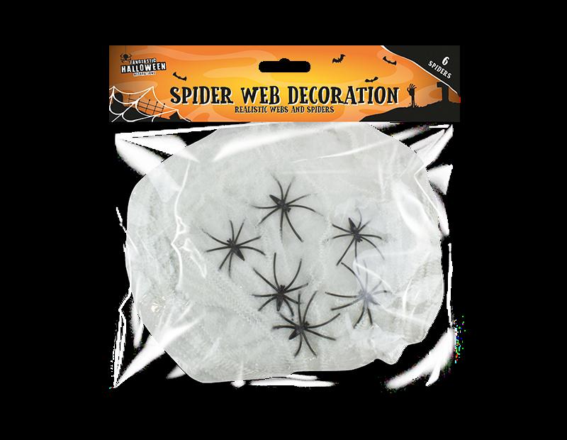 Halloween Spider Web Decoration