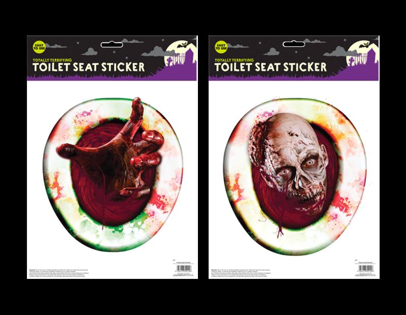 Halloween Toilet Seat Sticker