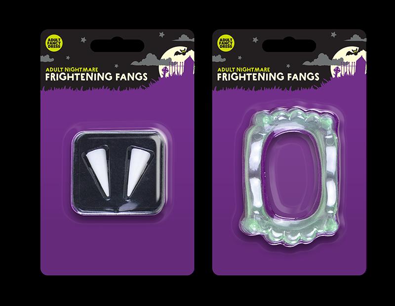 Halloween Frightening Fangs