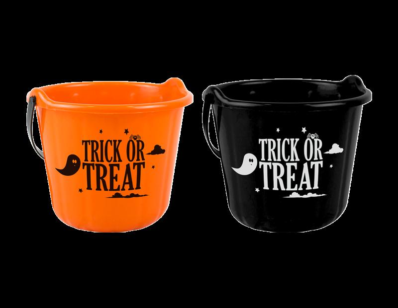 Halloween Trick Or Treat Bucket