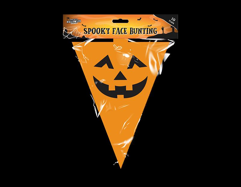 Halloween Bunting - 10 Flags