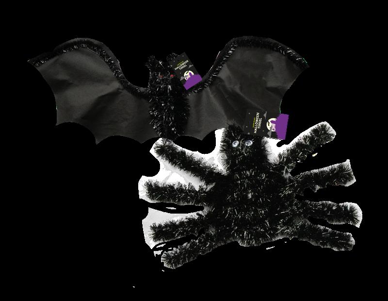 Halloween Creepy Tinsel Decoration
