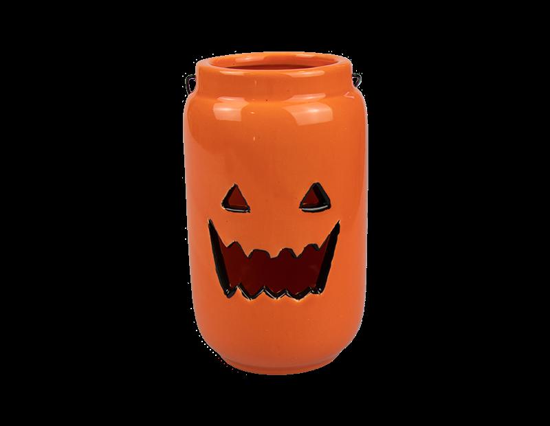 Tall Pumpkin Tea Light Holder