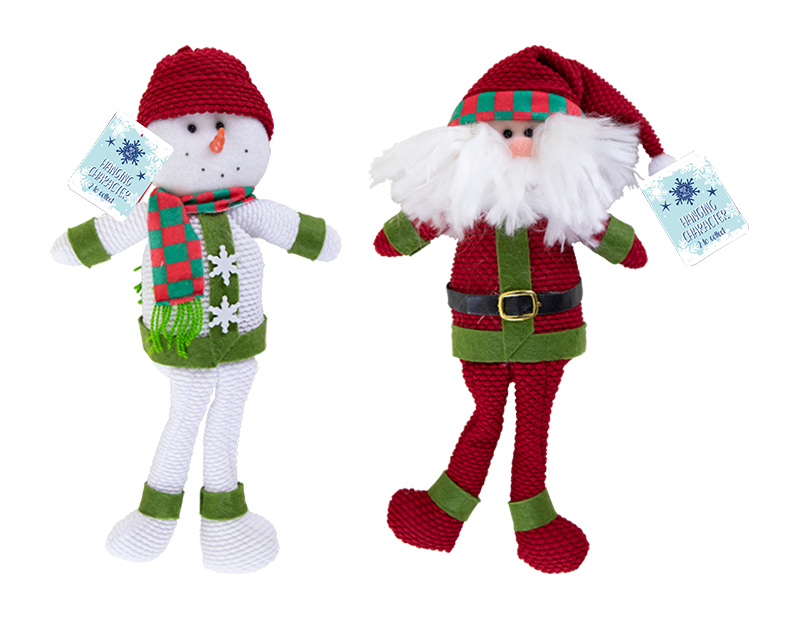 Hanging Christmas Character Decoration