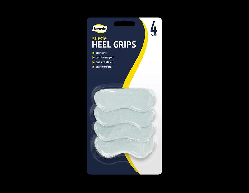 Suede Heel Grips - 4 Pack