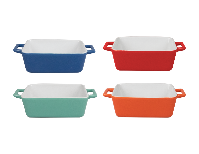 Large Rectangle Baking Dishes - 4 Pack